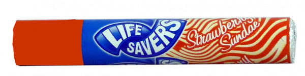 Life Savers - Strawberry Sundae, by Life Savers,  and more Confectionery at The Professors Online Lolly Shop. (Image Number :2047)