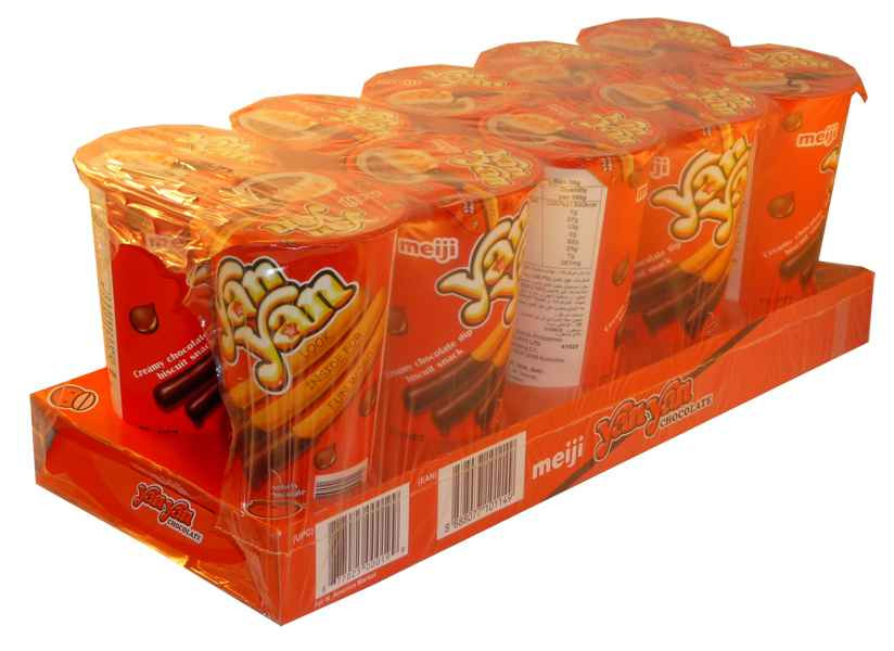 Meiji YanYan Chocolate and more Snack Foods at The Professors Online Lolly Shop. (Image Number :2062)