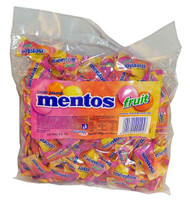 Mentos Fruit Pillowpack, by Perfetti Van Melle,  and more Confectionery at The Professors Online Lolly Shop. (Image Number :2070)