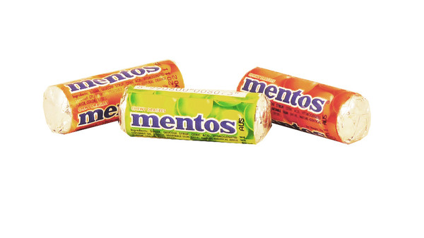 Mini Mentos, by Perfetti Van Melle,  and more Confectionery at The Professors Online Lolly Shop. (Image Number :8933)