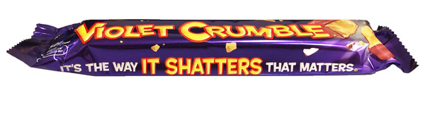 Violet Crumble, by Robern Menz,  and more Confectionery at The Professors Online Lolly Shop. (Image Number :12803)