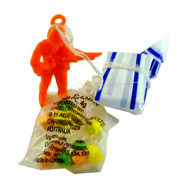 Parachute Jumpers, by Candy Brokers,  and more Confectionery at The Professors Online Lolly Shop. (Image Number :2260)