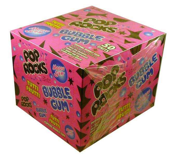 Pop Rocks - Tutti-Fruit Bubble Gum, by Pop Rocks and Zeta Espacial,  and more Confectionery at The Professors Online Lolly Shop. (Image Number :2099)