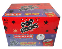 Pop Rocks Twin Packs - Strawberry + Cola, by Pop Rocks and Zeta Espacial,  and more Confectionery at The Professors Online Lolly Shop. (Image Number :8024)