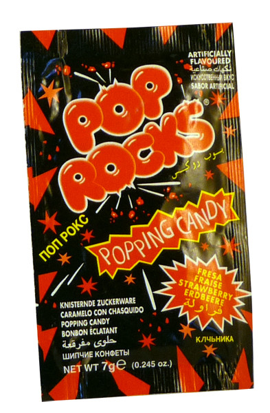 Pop Rocks Popping Candy - Strawberry, by Pop Rocks and Zeta Espacial,  and more Confectionery at The Professors Online Lolly Shop. (Image Number :2261)