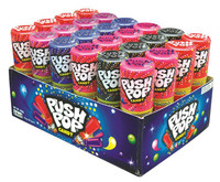 Push Pops, by Myriad Marketing,  and more Confectionery at The Professors Online Lolly Shop. (Image Number :8466)