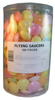 Flying Saucers, by AllFect Distributors,  and more Confectionery at The Professors Online Lolly Shop. (Image Number :2886)