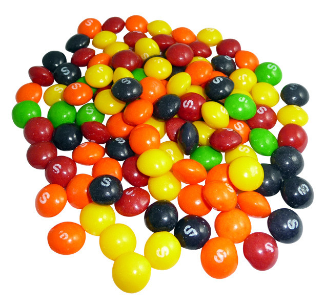 Skittles, by Mars,  and more Confectionery at The Professors Online Lolly Shop. (Image Number :4115)