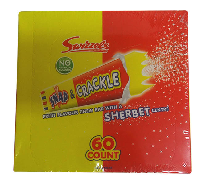Swizzels Snap and Crackle, by Swizzles Matlow,  and more Confectionery at The Professors Online Lolly Shop. (Image Number :9777)