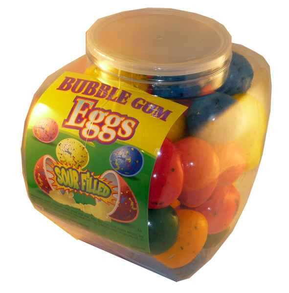 Sour Filled Mega Eggs, by Confectionery Trading Company,  and more Confectionery at The Professors Online Lolly Shop. (Image Number :2134)