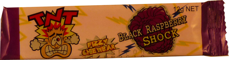 TNT Shocks - Black Raspberry, by TNT,  and more Confectionery at The Professors Online Lolly Shop. (Image Number :2302)