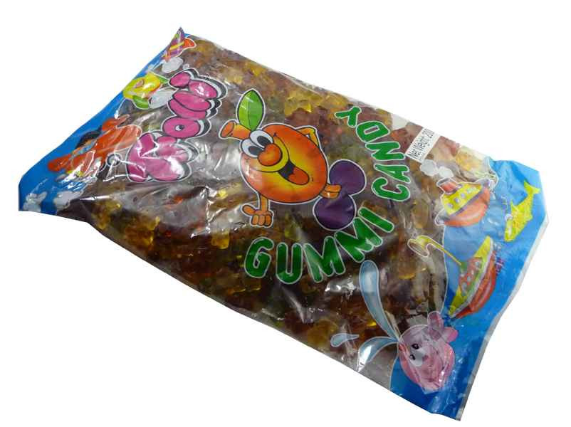 Trolli Natural Bears 2kg Bulk Bag, by Trolli,  and more Confectionery at The Professors Online Lolly Shop. (Image Number :2180)