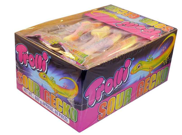 Trolli Sour Gecko, by Trolli,  and more Confectionery at The Professors Online Lolly Shop. (Image Number :2182)