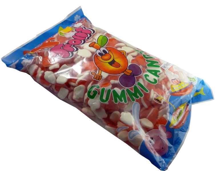Trolli Strawberry Foam 2kg Bulk, by Trolli,  and more Confectionery at The Professors Online Lolly Shop. (Image Number :2185)