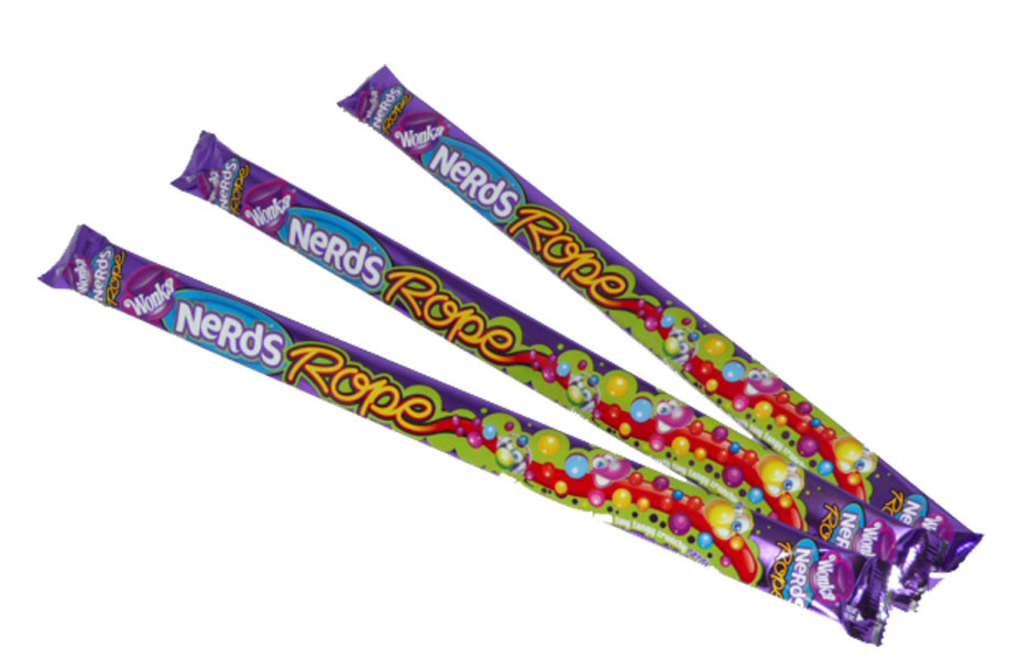 Wonka Nerds Rope, by Wonka,  and more Confectionery at The Professors Online Lolly Shop. (Image Number :2480)