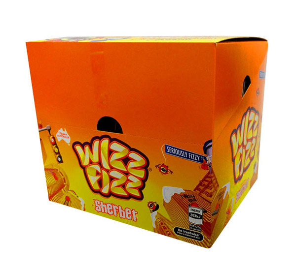 Wizz Fizz - Original Sherbet, by Fyna Foods,  and more Confectionery at The Professors Online Lolly Shop. (Image Number :10584)