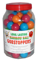 Long Lasting Rainbow Gobstoppers, by Candy Brokers,  and more Confectionery at The Professors Online Lolly Shop. (Image Number :2342)