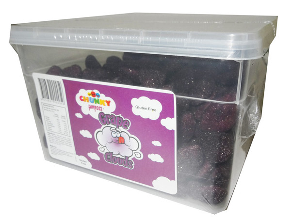 Chunky Funkeez Grape Clouds, by Candy Brokers,  and more Confectionery at The Professors Online Lolly Shop. (Image Number :5547)