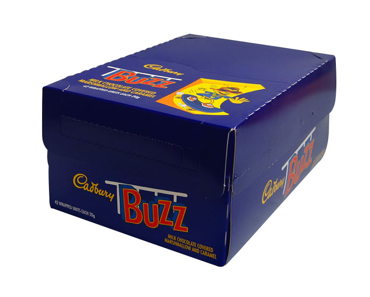 Cadbury Buzz, by Cadbury,  and more Confectionery at The Professors Online Lolly Shop. (Image Number :10300)