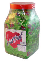 Hart Beat Love Candy - Honey Dew, by Chocolate Gems/General Candy Co,  and more Confectionery at The Professors Online Lolly Shop. (Image Number :2537)