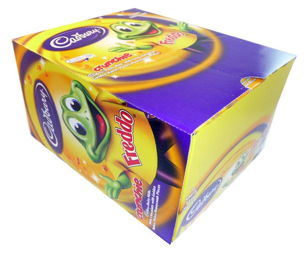 Cadbury Freddo Frog Crunchie, by Cadbury,  and more Confectionery at The Professors Online Lolly Shop. (Image Number :3022)