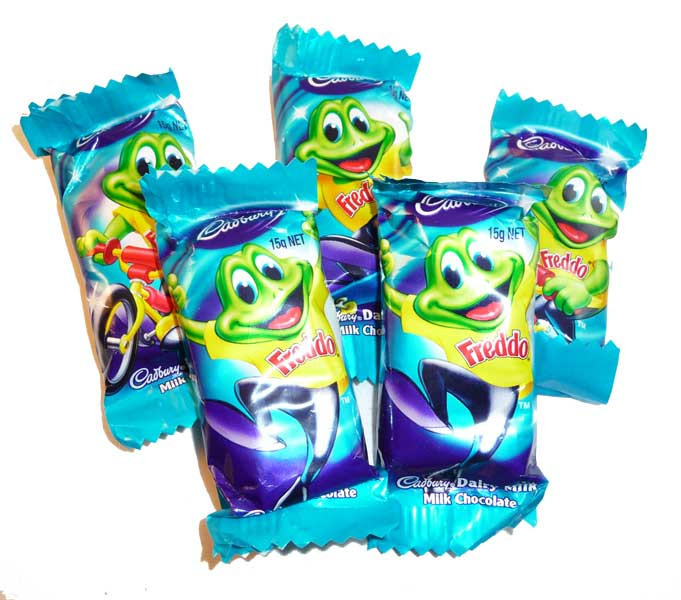 Cadbury Freddo Frog Dairy Milk, by Cadbury,  and more Confectionery at The Professors Online Lolly Shop. (Image Number :2596)