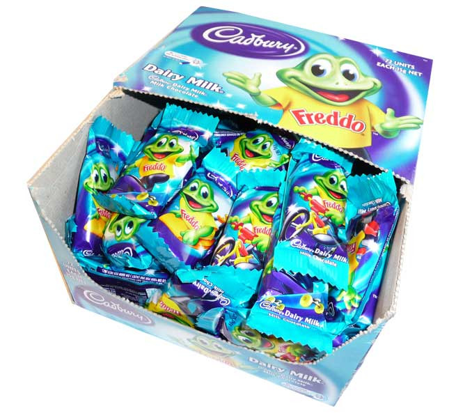 Cadbury Freddo Frog Dairy Milk, by Cadbury,  and more Confectionery at The Professors Online Lolly Shop. (Image Number :2597)