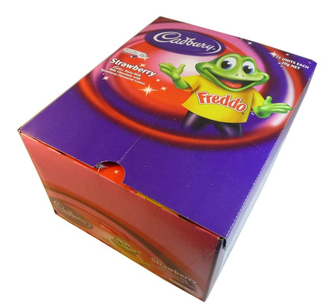 Cadbury Freddo Frog Strawberry, by Cadbury,  and more Confectionery at The Professors Online Lolly Shop. (Image Number :2898)