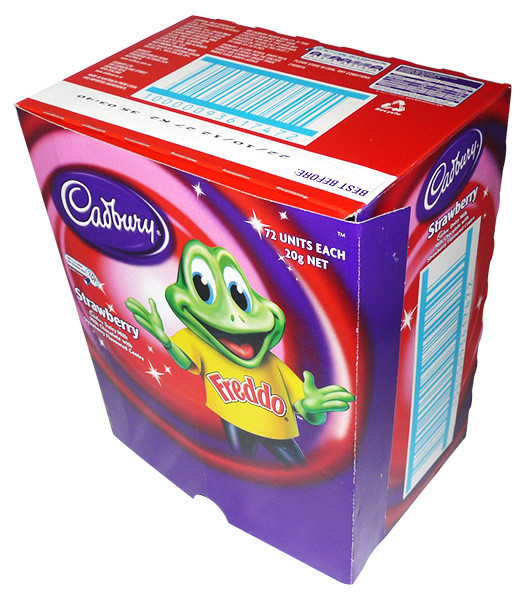 Cadbury Freddo Frog Strawberry, by Cadbury,  and more Confectionery at The Professors Online Lolly Shop. (Image Number :4212)