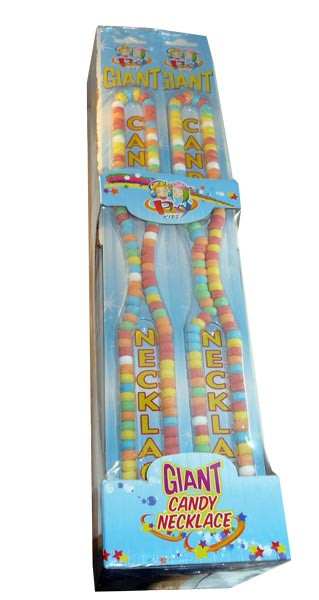 Pixy Kids Giant Candy Necklace, by Candy Brokers,  and more Confectionery at The Professors Online Lolly Shop. (Image Number :2985)