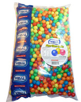 Vidal Fizz Gum Balls, by vidal,  and more Confectionery at The Professors Online Lolly Shop. (Image Number :2734)