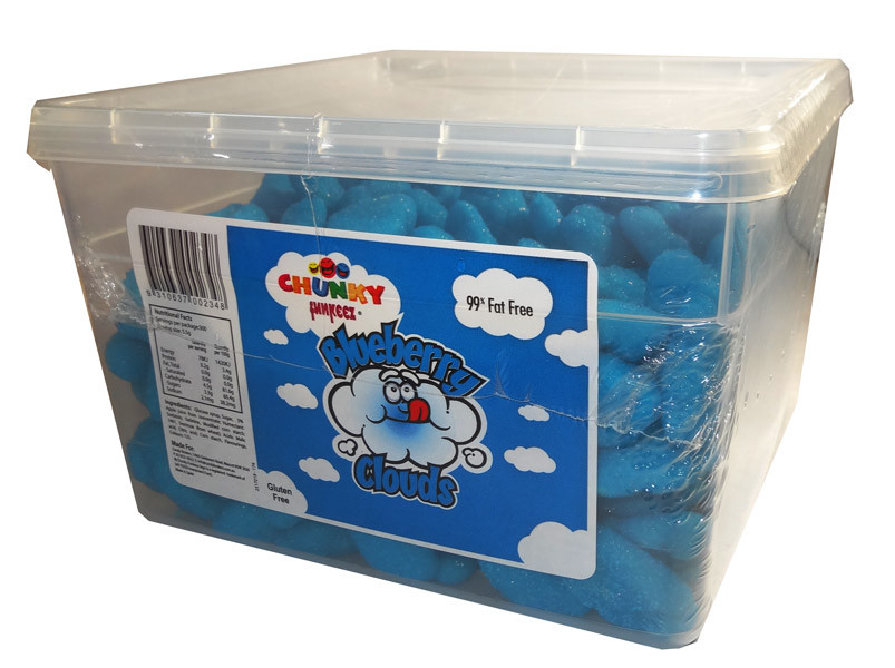 Chunky Funkeez Blueberry Clouds, by Candy Brokers,  and more Confectionery at The Professors Online Lolly Shop. (Image Number :6768)