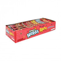 Nerds Rope - Rainbow, by Wonka,  and more Confectionery at The Professors Online Lolly Shop. (Image Number :14689)