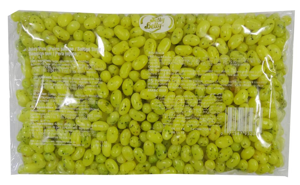 Jelly Belly - Gourmet Jelly Beans - Juicy Pear, by Jelly Belly,  and more Confectionery at The Professors Online Lolly Shop. (Image Number :9154)