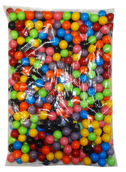 Choc Rainbow Balls, by Confectionery Trading Company,  and more Confectionery at The Professors Online Lolly Shop. (Image Number :8305)