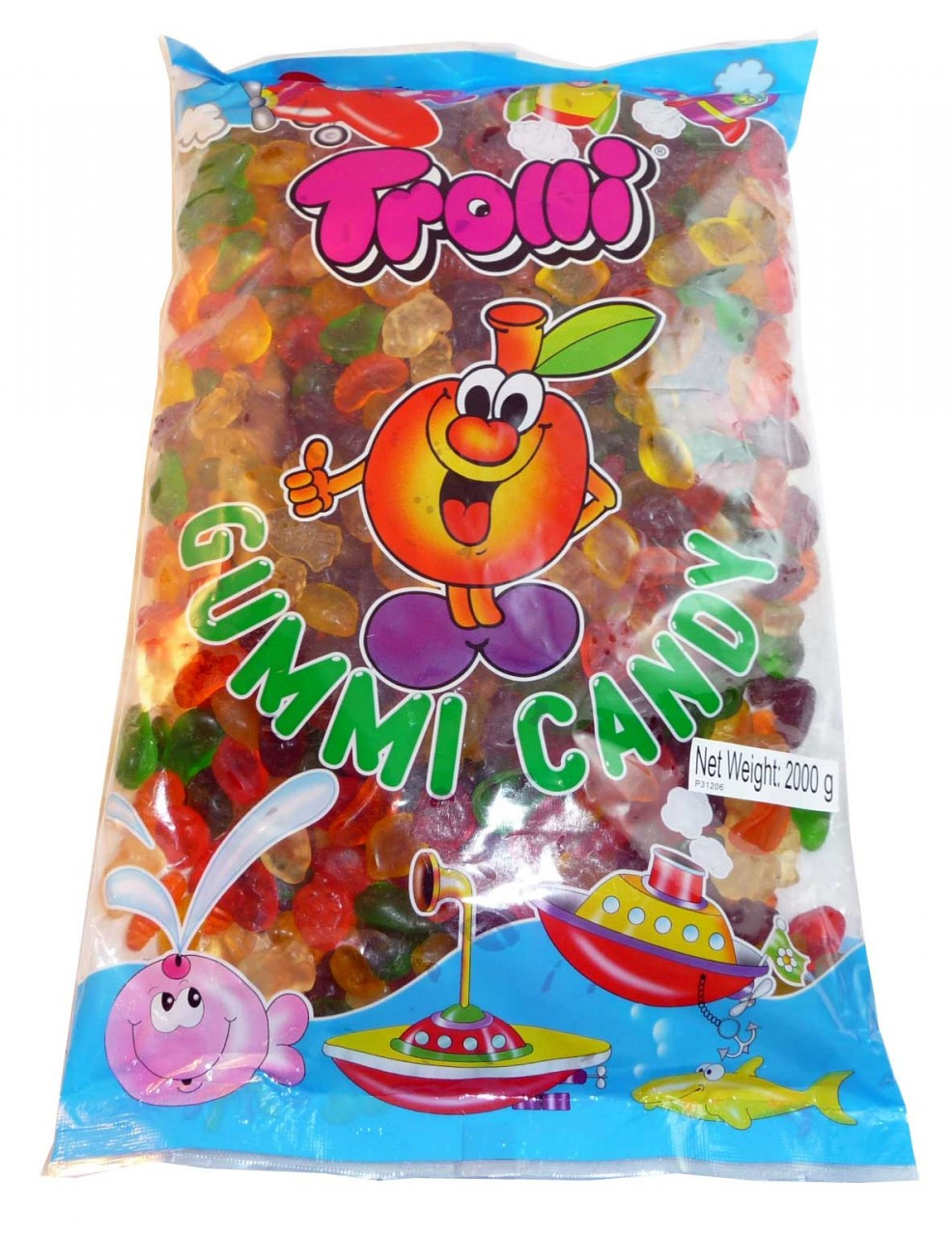 Trolli Fruit Salad 2kg bag, by Trolli,  and more Confectionery at The Professors Online Lolly Shop. (Image Number :2803)