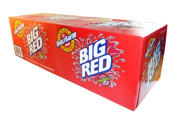 Big Red Soda, by Big Red,  and more Beverages at The Professors Online Lolly Shop. (Image Number :2588)