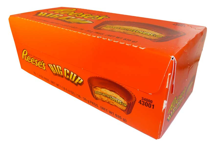 Reeses Big Cup, by Reeses,  and more Confectionery at The Professors Online Lolly Shop. (Image Number :2727)