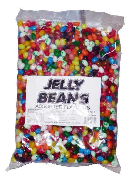 Jelly Beans - Mixed Gourmet - Assorted Flavours, by Candy Brokers,  and more Confectionery at The Professors Online Lolly Shop. (Image Number :6560)