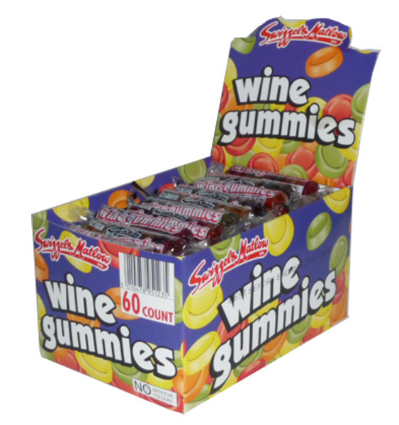 Wine Gummies, by Swizzles Matlow,  and more Confectionery at The Professors Online Lolly Shop. (Image Number :2790)