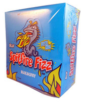 Bzar Spitfire Fizz Bar - Blueberry, by Candy Brokers,  and more Confectionery at The Professors Online Lolly Shop. (Image Number :2832)