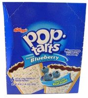 Kelloggs Pop Tarts - Frosted Blueberry, by Kelloggs Pop Tarts,  and more Snack Foods at The Professors Online Lolly Shop. (Image Number :2851)
