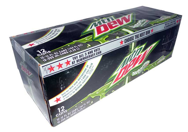 Mountain Dew Distortion, by Mountain Dew,  and more Confectionery at The Professors Online Lolly Shop. (Image Number :2867)