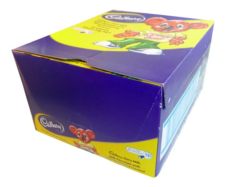 Cadbury Caramello Koala, by Cadbury,  and more Confectionery at The Professors Online Lolly Shop. (Image Number :3021)