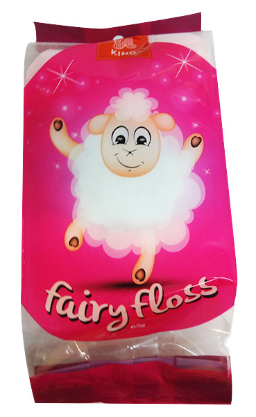 The Fairy Floss King - Multicolour Fairy Floss, by The Fairy Floss King,  and more Confectionery at The Professors Online Lolly Shop. (Image Number :10027)