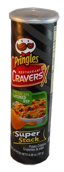 Pringles - Mexican Layered Dip, by Pringles,  and more Snack Foods at The Professors Online Lolly Shop. (Image Number :2922)