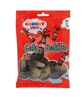 Chunky Funkeez Cola Bottles, by Candy Brokers,  and more Confectionery at The Professors Online Lolly Shop. (Image Number :8937)