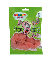 Chunky Funkeez Sour Ears, by Candy Brokers,  and more Confectionery at The Professors Online Lolly Shop. (Image Number :8935)