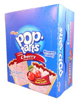 Kelloggs Pop Tarts - Frosted Cherry, by Kelloggs Pop Tarts,  and more Snack Foods at The Professors Online Lolly Shop. (Image Number :3002)