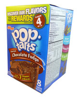 Kelloggs Pop Tarts - Frosted Chocolate Fudge, by Kelloggs Pop Tarts,  and more Snack Foods at The Professors Online Lolly Shop. (Image Number :3007)